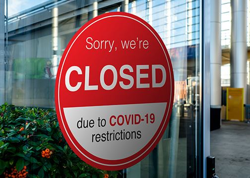 Covid-19 Closed Business